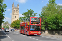 Discover Oxford's top attractions with a hop-on hop-off bus ticket