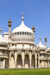 Enjoy views of the Royal Pavilion
