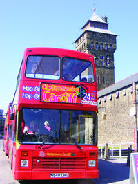 City Sightseeing Cardiff Hop-On Hop-Off Tour