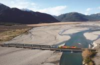 3-Day Queenstown to Christchurch including West Coast Glaciers and the TranzAlpine Train