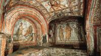 Private Half-Day Rome Tour: Roman Catacombs, Appian Way and Cecilia Metella