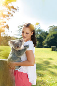 Brisbane Afternoon Tour to Lone Pine Koala Sanctuary and Mt Coot-tha