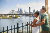 The Brisbane River*