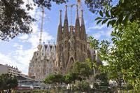 La Sagrada Familia and Torres Bellesguard Tour with Brunch and Wine