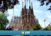 Viator VIP: Exclusive La Sagrada Familia and Torres Bellesguard Tour with Brunch and Wine