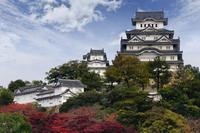Himeji Castle and Akashi Kaikyo Bridge from Osaka