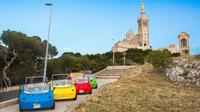 Discover Marseille at your own pace in a small convertible