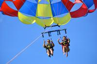Punta Cana Party Cruise with Snorkeling, Hooka Diving, and Parasailing