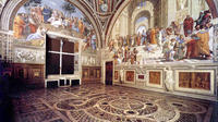 No Wait Access Entrance: Vatican Museums Tour with Raphael Rooms Sistine Chapel and St Peters Basilica
