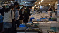 Food Tour at Tsukiji Fish Market
