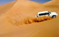 4x4 Dubai Desert Safari from Abu Dhabi with Camel Ride, Dinner and Belly Dancing Performance*