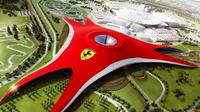 Sheikh Zayed Mosque and Falcon Hospital With Ferrari World Tour From Dubai