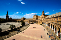 Visita turística por la mañana por la ciudad de Sevilla clásica o histórica