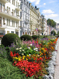 Czech Spas of Karlovy Vary and Marianske Lazne from Prague