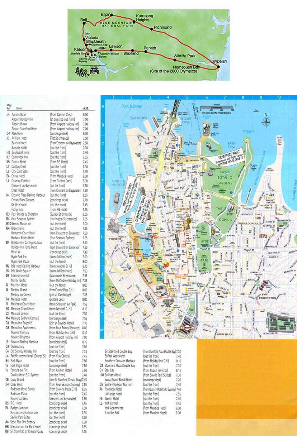 carte-plan-sydney-visite-guidee