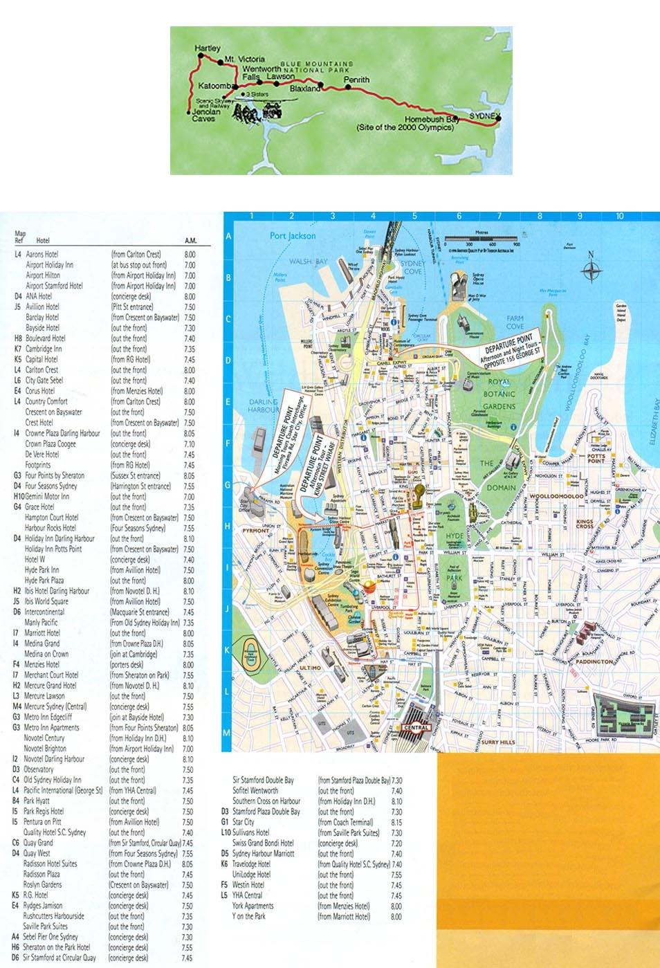 carte-localisation-excursion-montagnes-bleues-grottes