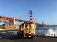 Hop-On Hop-Off City Tour on a Classic Cable Car