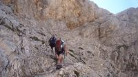 Nordic Walking among the canyons of Campo Imperatore