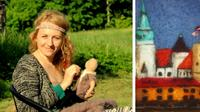 Create a Felted Picture of Riga with a Famous Local Feltmaster in Riga