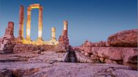 Private 10-Hour Amman Tour from Dead Sea With Jordan Museum King Abdullah Mosque Roman Theater Citadel Rinbow Street and Royal Automobile Museum