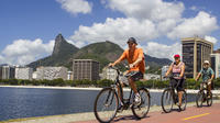 BIking along shores of Guanabara Bay*