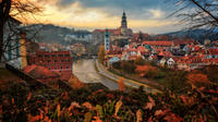 Shared Shuttle Bus from Hallstatt to Prague with stop-over in UNESCO Listed Town of Cesky Krumlov