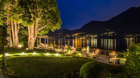 Lake Como Cruise from Como: Venetian Water Taxi and Dinner in Moltrasio