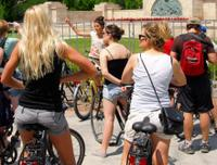 Small-Group Prague Bike Tour Including Old Town, Vltava River and Wenceslas Square