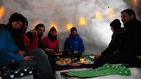 Snowshoe Walk and Igloo Fondue from Chamonix