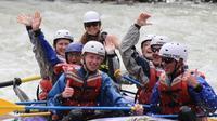 Jasper Rafting on Sunwapta River: Class III