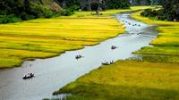 Boat and Bike Tour: Hoa Lu and Tam Coc Full day From Hanoi