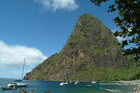 Wandeling over Gros Piton Nature Trail in Saint Lucia