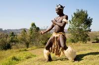 Shakaland African Zulu Dancer*