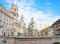 Classical Rome City Tour with Trevi Fountain and Pantheon