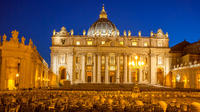 Vatican Tour by Night with Buffet Dinner- Small Group