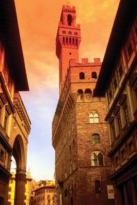Florence Palazzo Vecchio and Arnolfo Tower Sunset Tour with Optional Dinner or Aperitivo