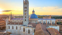 Siena San Gimignano and Greve in Chianti Semi-Independent Tour with Guided Winery Visit and Wine Tasting