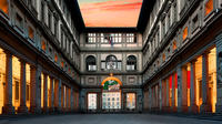 Uffizi Gallery Guided Visit at Sunset with Aperitif or Dinner