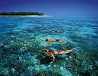 Snorkelling off Green Island*