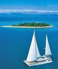 Low Isles Great Barrier Reef Sailing Cruise from Port Douglas