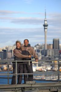 Auckland Harbour Bridge Bungy Jump
