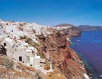 Santorini Island Independent Day Trip from Crete