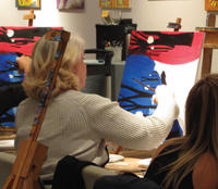 Art and Wine Class in Scottsdale