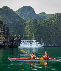 Halong Bay 3-Day Junk Boat Cruise