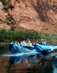 Colorado River Smooth Water Float Trip and Horseshoe Bend from Sedona