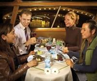Amsterdam Canals Cruise with Freshly Prepared 4-Course Dinner