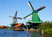 Amsterdam Super Saver: Excursión de un día a los molinos de viento de Zaanse Schans, y a Delft, La Haya y Madurodam