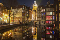 Amsterdam Canals Cruise Including Dinner and Onboard Commentary