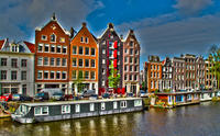Amsterdam Super Saver: City Sightseeing Tour plus Saloon Boat Cruise