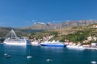 Dubrovnik harbor*